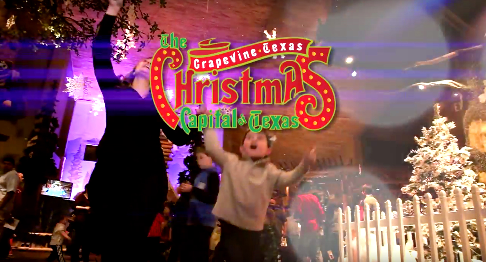 """The """"Christmas Capital of Texas"""" is Grapevine!"""